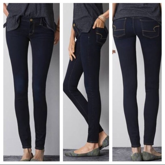 41ddc631eca67d American Eagle Outfitters Denim - American Eagle Dark Wash Jegging Skinny  Jeans